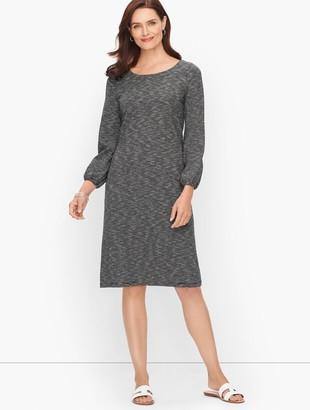 Talbots Jersey Knit Stripe Dress - Stripe