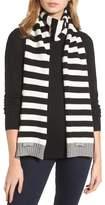Kate Spade Women's Bold Stripe Muffler