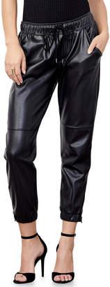 David Lerner Blake Ankle-Zip Jogger Pants