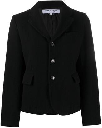 Comme des Garçons Comme des Garçons Three-Button Single-Breasted Jacket