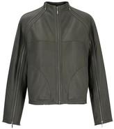 Amanda Wakeley Mirage Khaki Silky Shearling Jacket