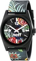 Neff Unisex NF0208ASFR Daily Wild Analog Display Japanese Quartz Multi-Color Watch