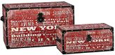 Household Essentials New York 2-pc. Storage Trunk Set - Jumbo/Medium