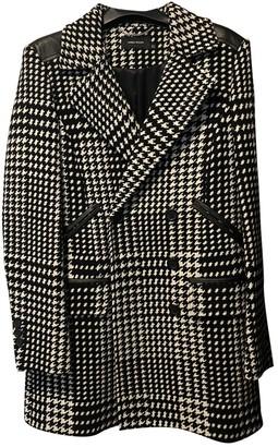 Karen Millen Black Wool Coat for Women