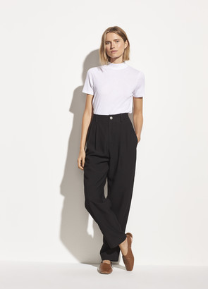 Vince Tapered Pleat Front Trouser