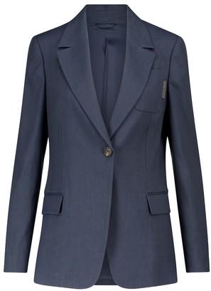 Brunello Cucinelli Linen and cotton blazer