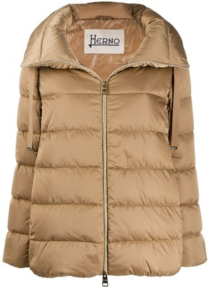 Herno High-Neck Puffer Jacket