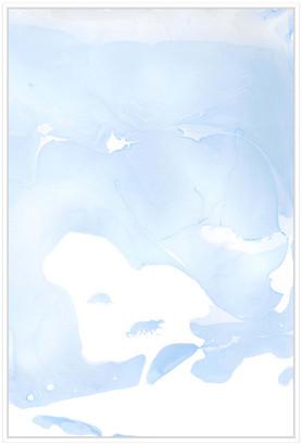 Jonathan Bass Studio Nail Polish Abstract Q, Decorative Framed Canvas Art