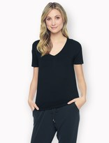 Splendid Rayon Jersey Short Sleeve Top