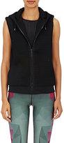 Ultracor Women's Honeycomb-Mesh Hooded Vest-BLACK