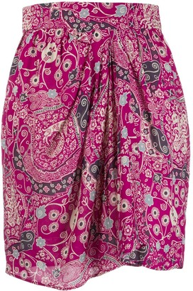 Etoile Isabel Marant Cegart floral printed mini skirt