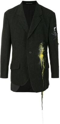 Yohji Yamamoto Thread-Detail Blazer