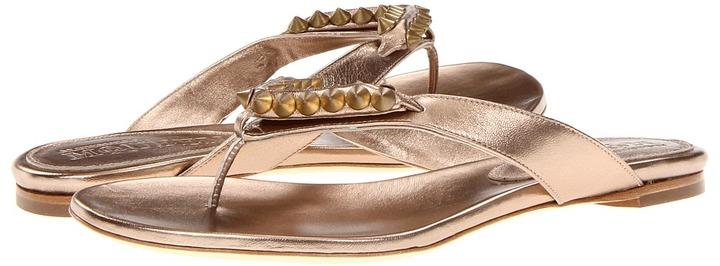Alexander McQueen Infra Pelle - Smooth Metallic (Pink/Silver/Beige) - Footwear