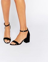 Carvela Loop Flare Heeled Sandals
