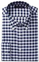 Tommy Hilfiger Non-Iron Slim Fit Plaid Dress Shirt
