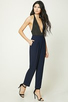 Forever 21 FOREVER 21+ Pleated High-Waisted Pants