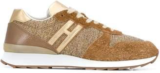 Hogan side logo sneakers