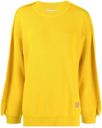 Ambush Ribbed Wool Jumper