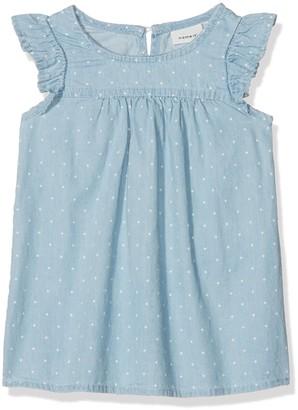 Name It Baby Girls' Nbfablina DNM 1079 Ss Dress