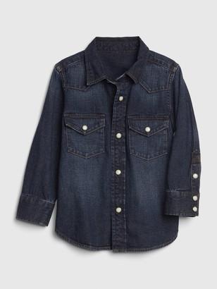 Gap Toddler Western Denim Shirt