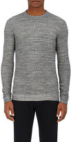 Naked & Famous Denim MEN'S DOUBLE-FACED KNIT COTTON TOP-DARK GREY SIZE S