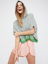 Free People Shimmer And Sheen Hoodie