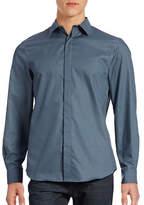 Perry Ellis Micro-Geo Print Non-Iron Shirt