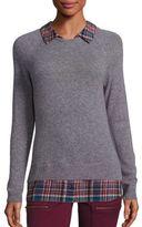 Joie Zaan F Cashmere Layered Sweater