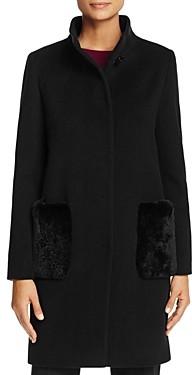 Cinzia Rocca Icons Rabbit Fur Pocket Coat - 100% Exclusive