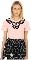 Marc by Marc Jacobs Embroidered Collar Tee Women's T Shirt