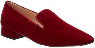 French Sole Edith Velvet Loafer