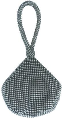 Ralph Lauren Silver Metal Clutch bags