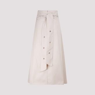 S Max Mara 'S Max Mara Ardenza Tie Belt Skirt