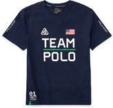 Ralph Lauren 8-20 Performance Jersey Graphic Tee