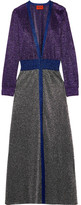 Missoni Metallic Knitted Cardigan - Purple