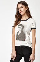Obey Debbie Harry Beret Ringer T-Shirt