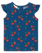 Gucci Baby Girl's Heart Cherries-Print Tee