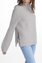 White + Warren Cashmere Mock Neck Sweater