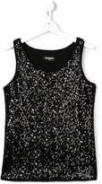 DSQUARED2 sequinned tank top