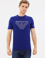Armani Jeans Logo Crew Neck T-Shirt
