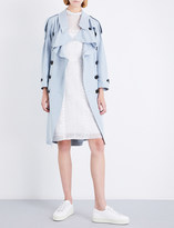 Burberry Baythrope woven-silk trench coat