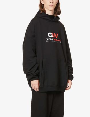 Balenciaga Gym cotton-jersey hoody