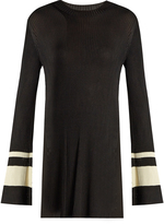 Ellery Barbie round-neck ribbed-knit sweater