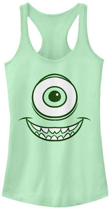 Fifth Sun Disney Pixar Women Monsters Inc. Mike Wazowski Eye Racerback Tank Top