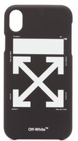 Off White Off-white - Arrow Carryover Iphone Xr Phone Case - Mens - Black
