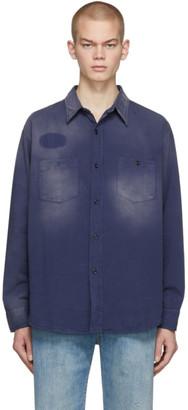 Levi's Clothing Blue 1950s Work Shirt