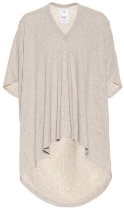 Visvim Asymmetric cotton T-shirt