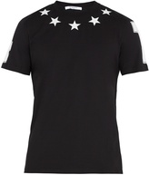 Givenchy Star-appliqué cotton T-shirt