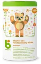 BabyGanics 100-Count Alcohol-Free Mandarin Hand Sanitizing Wipes