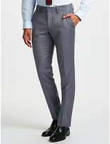 J. Lindeberg Wool Slim Fit Suit Trousers, Dusty Blue